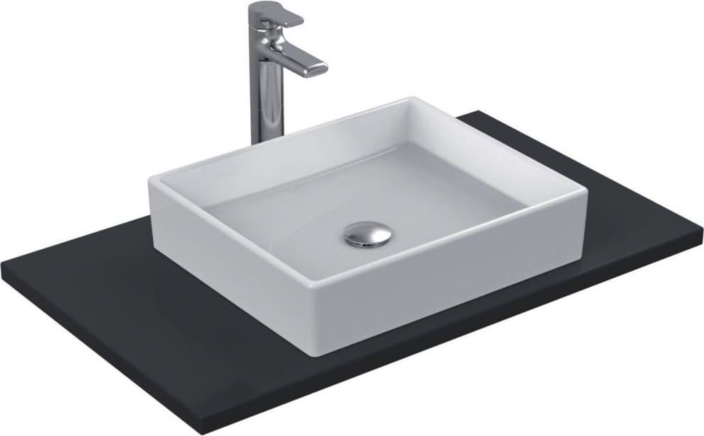 Ideal standard lavabo bagno da appoggio rettangolare dimensione