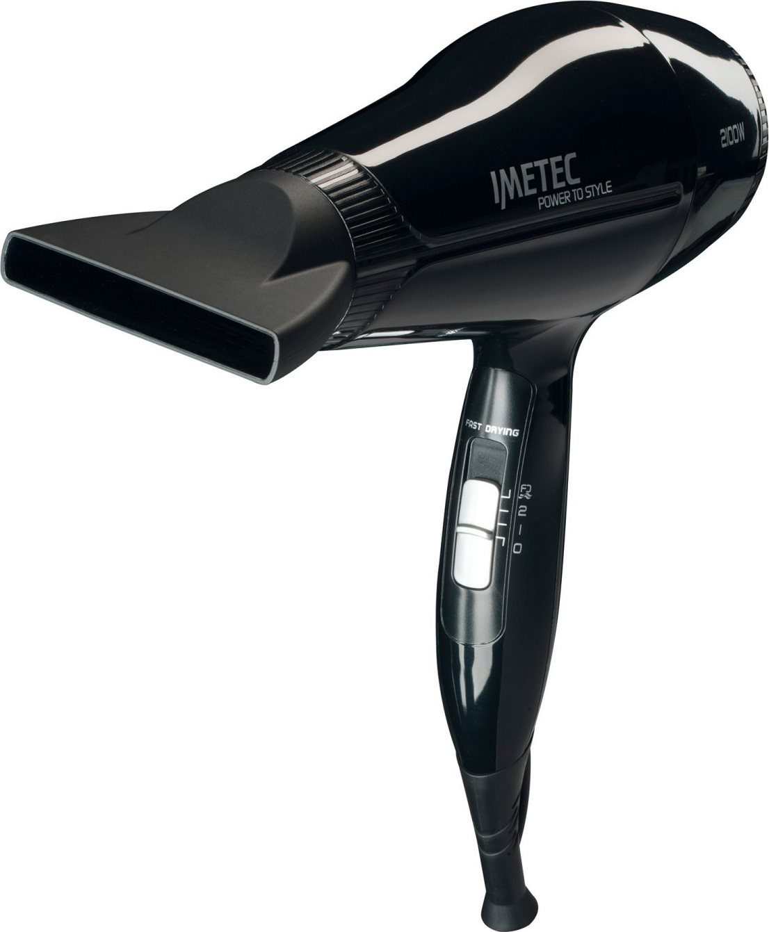 Imetec 11370 Phon Asciugacapelli 2100 W Fast Drying  Power to Style S8 2100