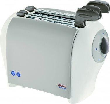 Imetec Tostapane per Toast 2 Fette 500W 5 Livelli cottura Timer - Dolcevita TS1