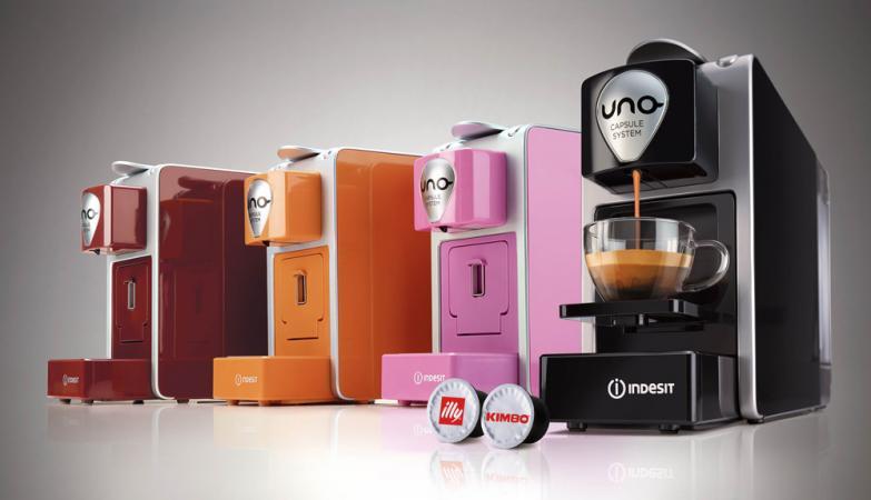 Indesit Macchina Caffè Espresso Automatica Sistema di ricarica ...