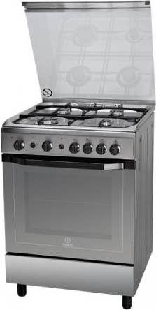 indesit cucina a gas 4 fuochi forno a gas con grill larghezza x ... - Cucine A Gas Indesit