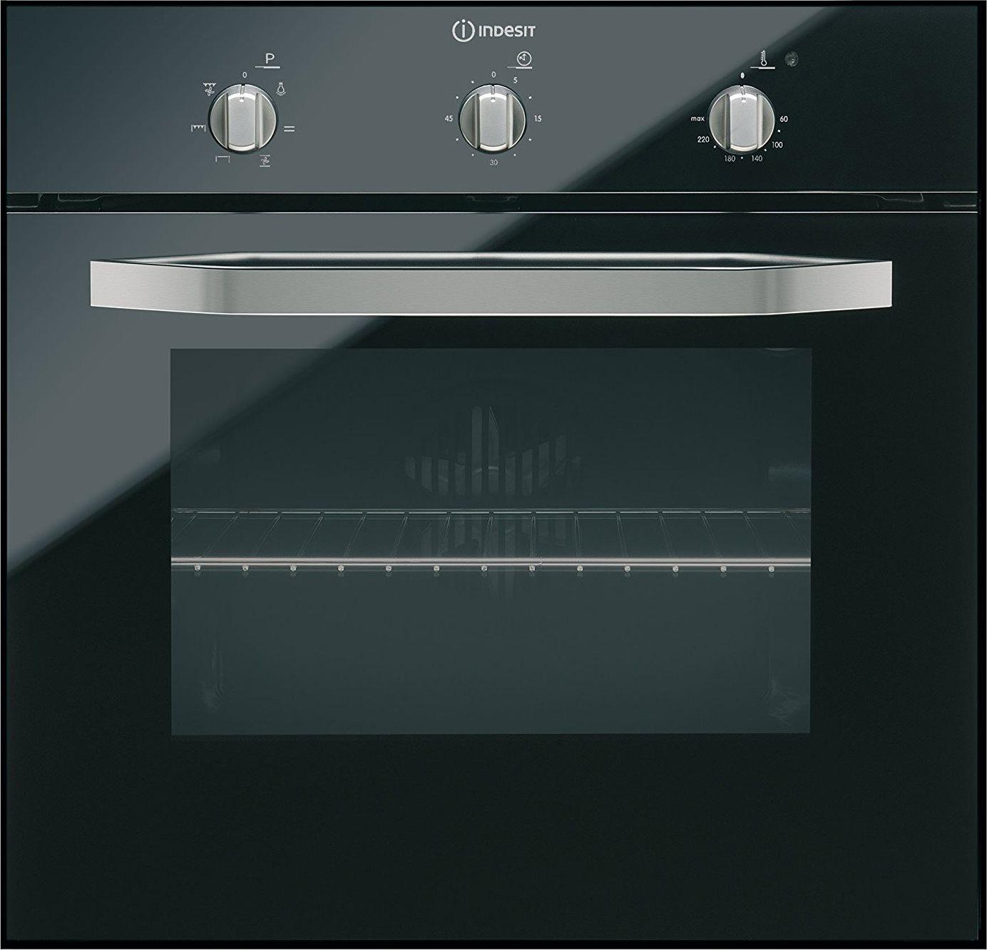 Forno indesit ifg 51 k a bk serie prime glass forno da incasso elettrico ventilato con grill - Forno da incasso indesit ...