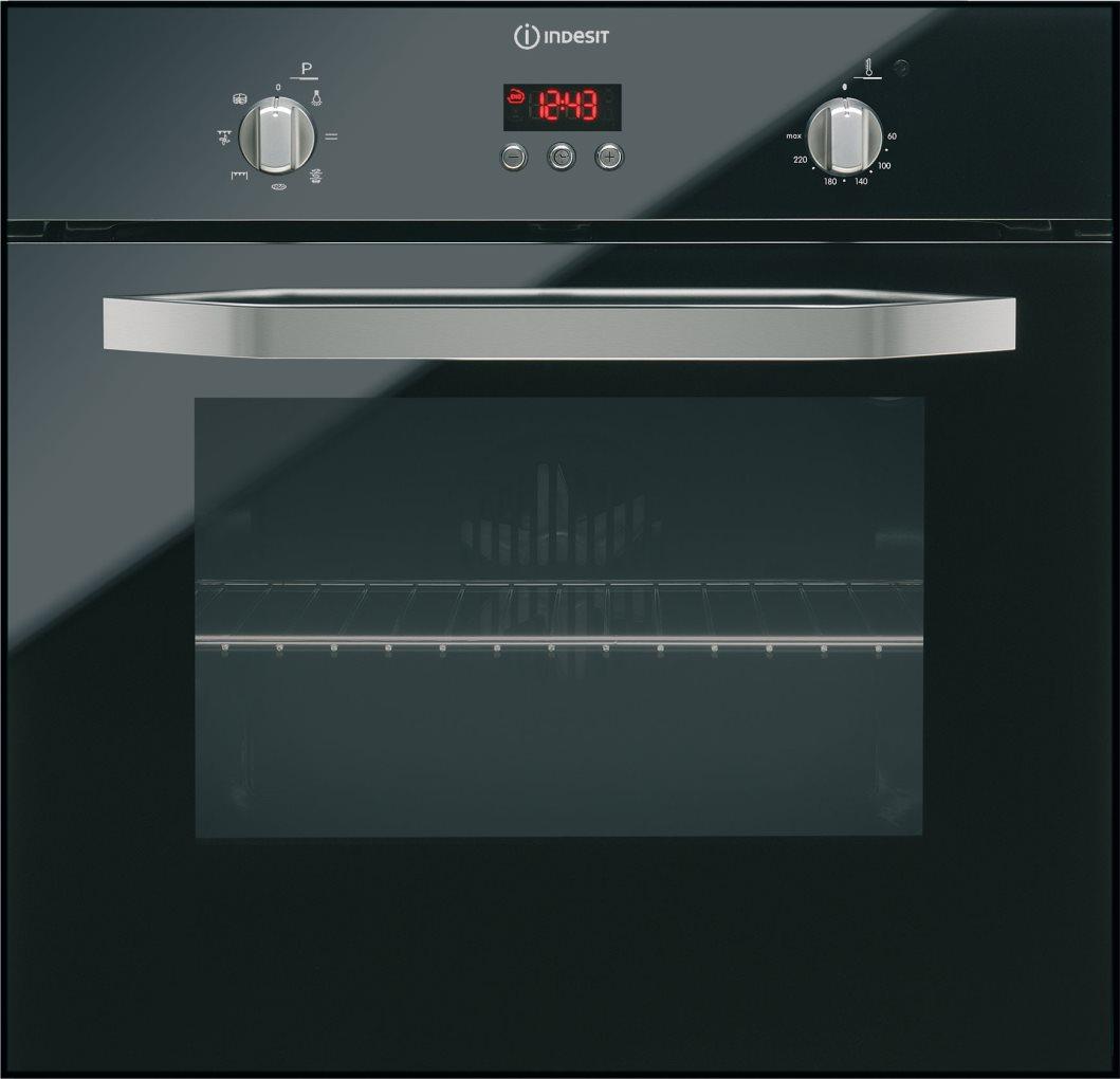 Forno indesit ifg 63 k a bk multichef 6 serie prime glass - Forno con funzione pizza ...