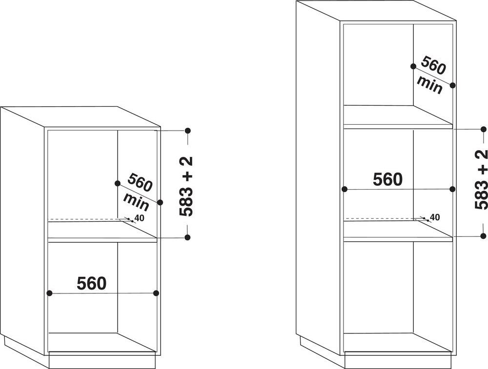 Forno Incasso Ventilato Indesit Elettrico Multifunzione 66L A 60 cm IFW6530WH