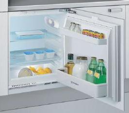 Mini frigo da incasso piccolo sottopiano indesit in ts for Frigoriferi profondita