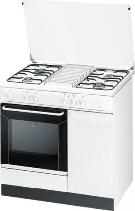 indesit cucina a gas 4 fuochi forno a gas con grill larghezza x ... - Cucina A Gas Indesit