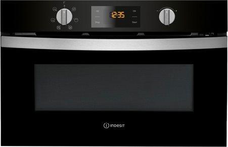 Indesit forno a microonde da incasso combinato con grill capacit 31 litri potenza 1000 watt - Forno da incasso indesit ...