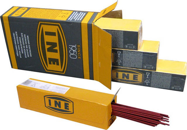 Ine Elettrodi Saldatura per Acciaia al carbonio mm 2.5300 rosso 690pz - 48A