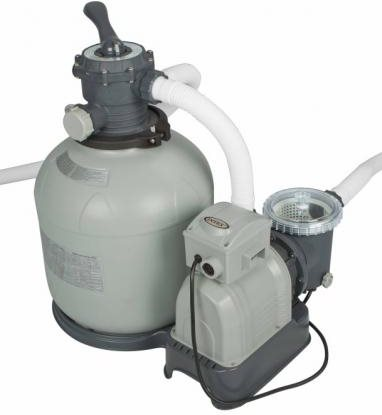 Intex Pompa a Sabbia per Piscine Capacità 12,000 Lth - 28652