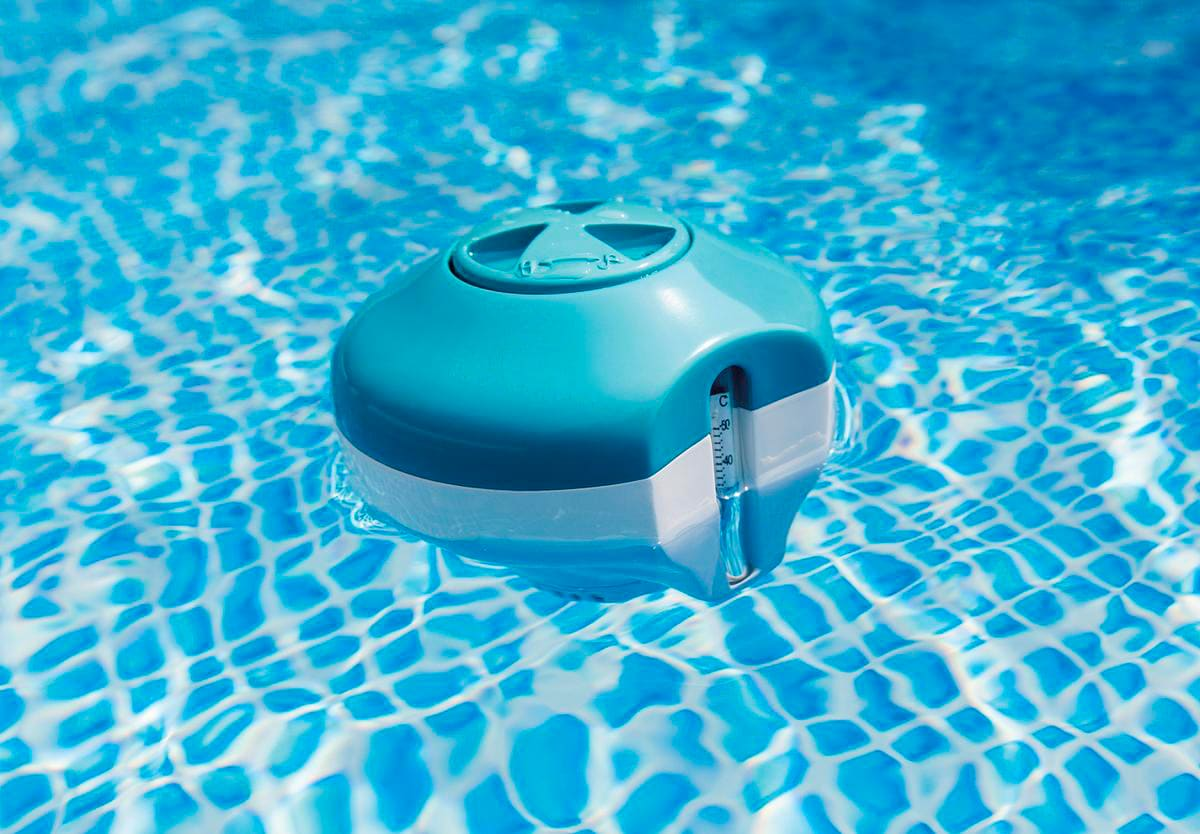 Intex 29043 Dispenser di Cloro Galleggiante per piscine e SPA fino a 3.66 mt