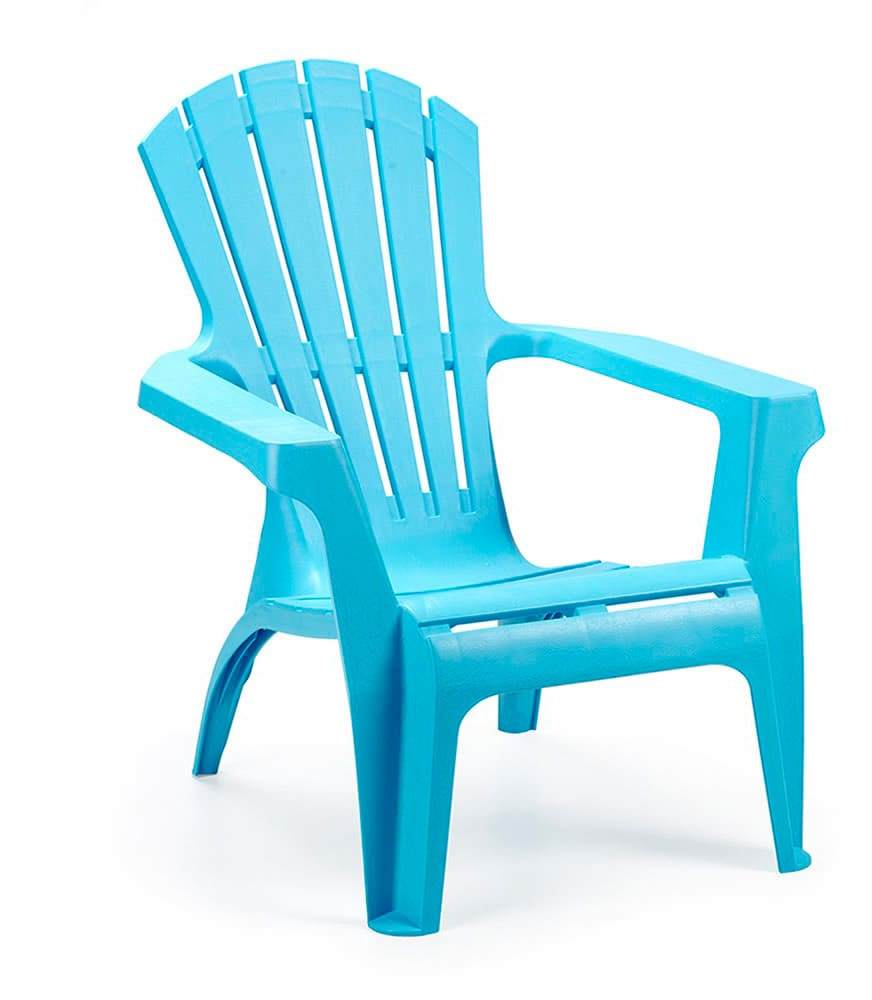 Sedie Plastica Per Giardino.Ipae Progarden Sedia Da Esterni In Plastica 75x86x86 Cm