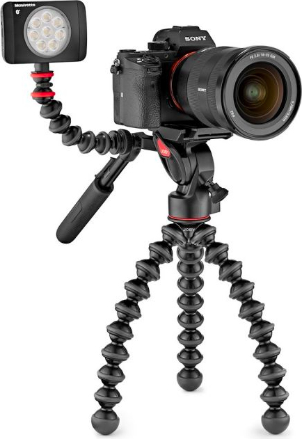 Joby JB01562-BWW Gorillapod 3K Video PRO treppiede Fotocamere digitalifilm 3