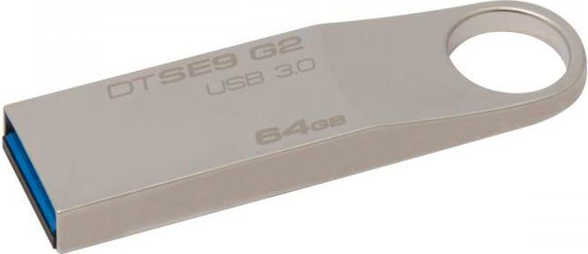 KINGSTON DTSE9G264GB Pen Drive 64 GB Chiavetta USB Memoria USB 3.0 DTSE9G2 DataTraveler SE9