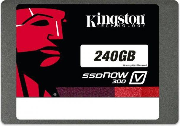 "KINGSTON Hard disk SSD Now V300 240GB 2.5"" 240Gb SATA3 SV300S37A240G"