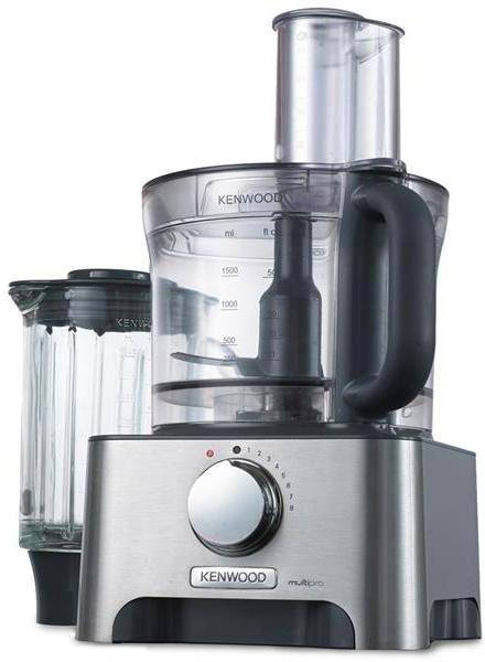 Robot da Cucina Capacità 3 Litri Velocità variabile Tasto Pulse Potenza  1000 Watt colore Silver - FDM790BA Food Processor