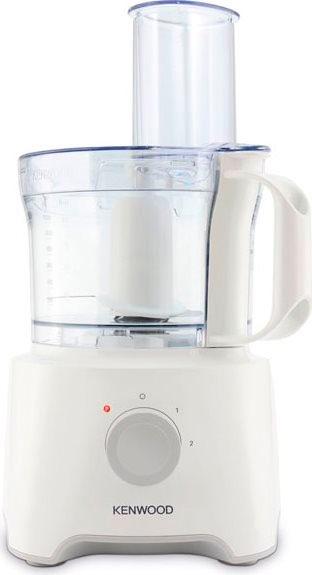 Kenwood robot da cucina capacit 2 1 litri 2 velocit tasto pulse potenza 800 watt colore bianco - Robot da cucina kenwood multipro ...
