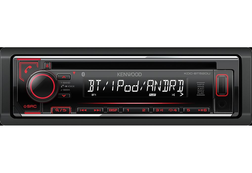 kenwood autoradio bluetooth android 1 din sintolettore cd. Black Bedroom Furniture Sets. Home Design Ideas