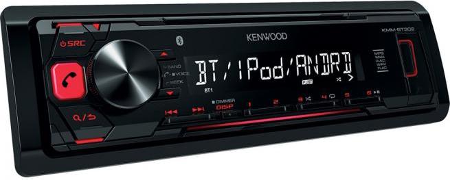 autoradio bluetooth kenwood stereo auto kmm bt302 prezzoforte. Black Bedroom Furniture Sets. Home Design Ideas