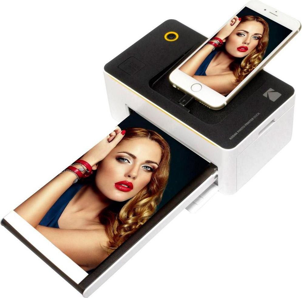 Kodak Stampante fotografica per foto Wifi a colori USB PD-450WE