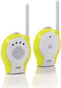 LAICA Baby Monitor funzionamento 200 m colore Bianco Verde - BC2001