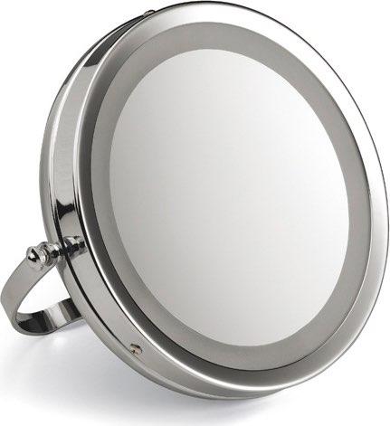 LAICA Specchio luminoso Ingrandimento 5x Lampada LED ø 11.7 cm PC5002
