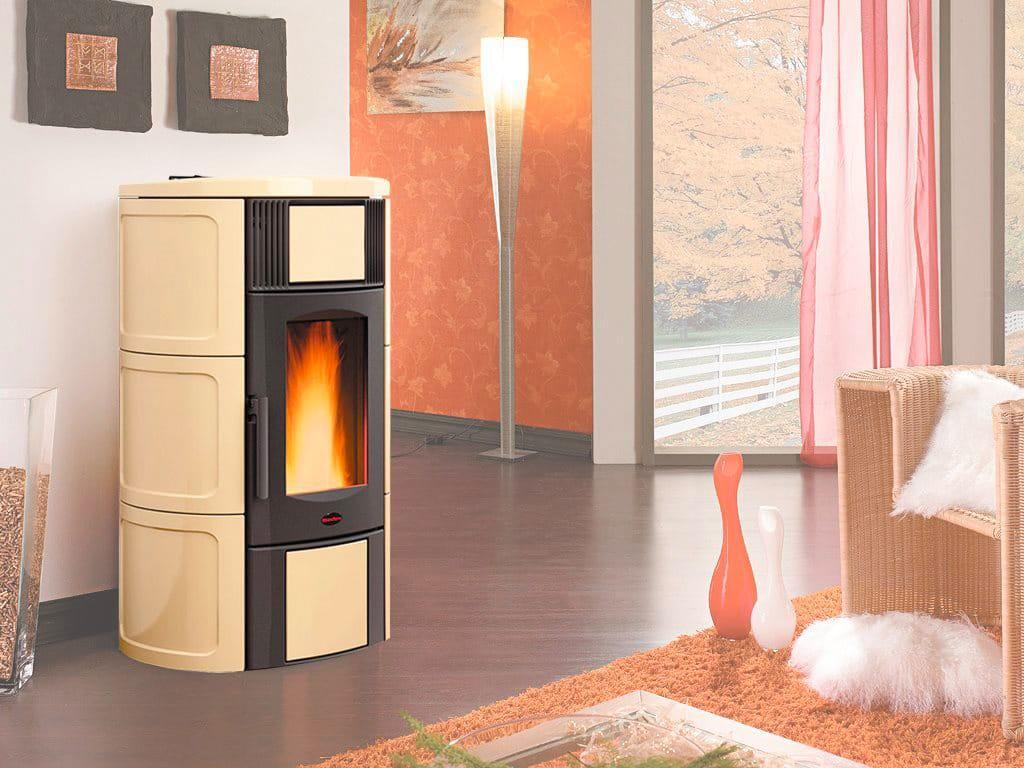 Nordica extraflame stufa a pellet idro 19 kw capacit serbatoio 35 kg termostufa volume 545 m - Stufa pellet idro nordica ...