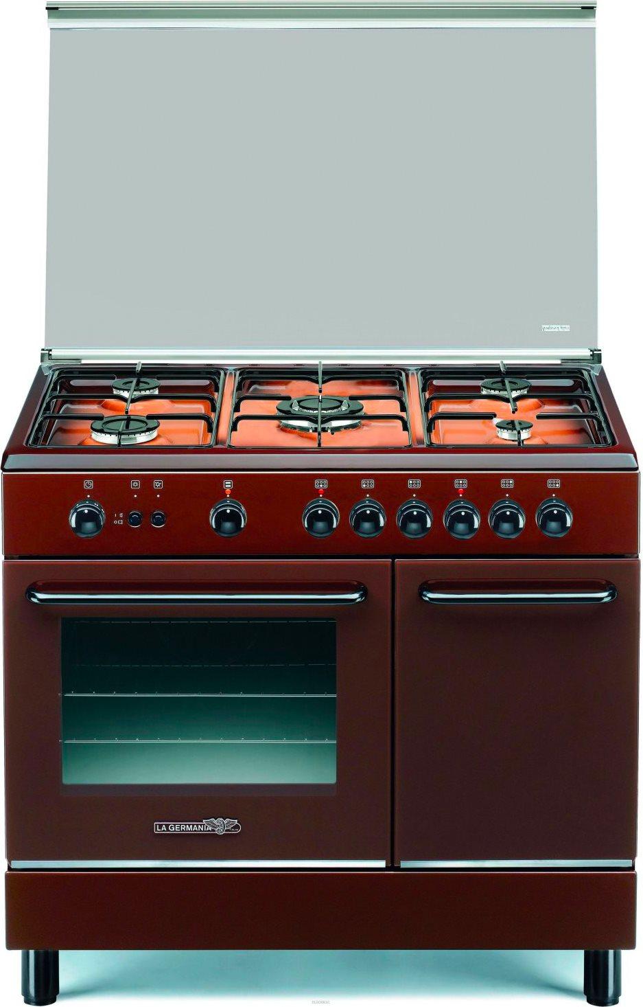 La germania cucina a gas 5 fuochi con forno a gas - Cucine a gas la germania ...
