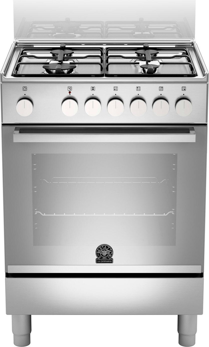 La germania cucina a gas 4 fuochi forno elettrico multifunzione ventilato con grill larghezza x - Cucina con forno a gas ventilato ...