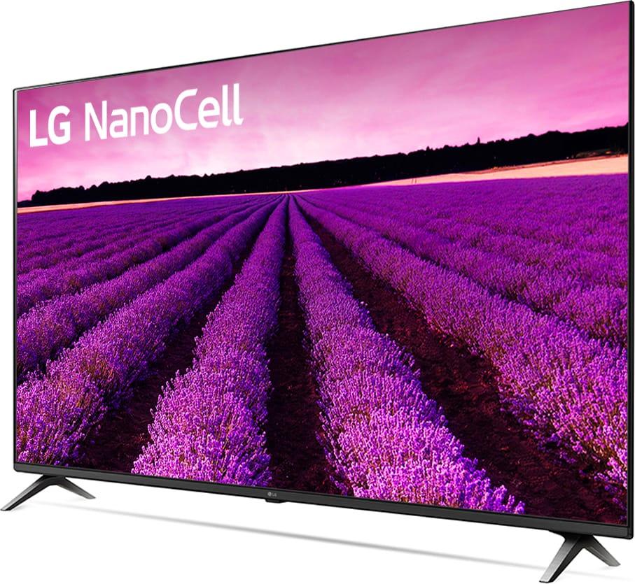 Lg Smart TV 49 Pollici 4K Ultra HD Display Nanocell HDR10 Pro TV Smart  WebOs 4.5 Netflix/Prime - 49SM8050PLC.API Serie SM8050