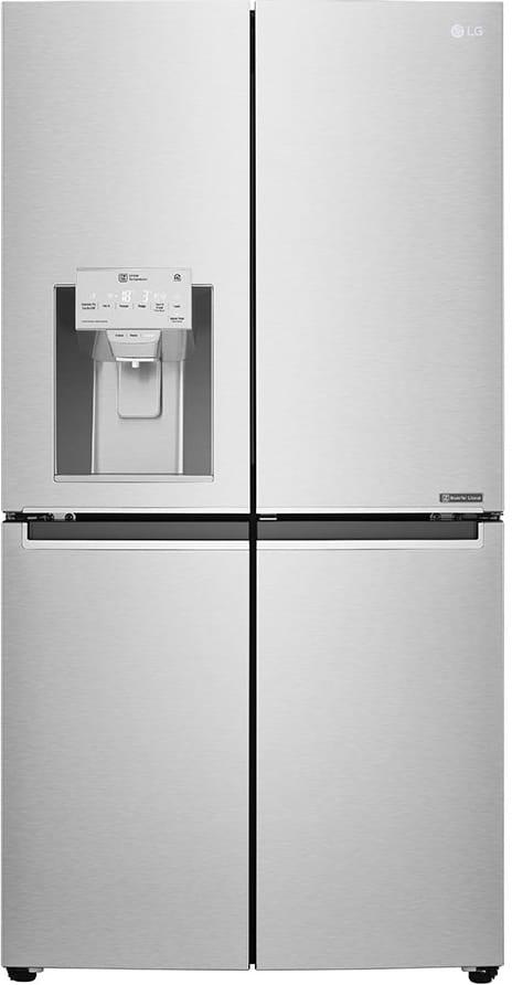 Frigorifero Americano Anni 50 gml936nshv frigorifero americano 4 porte side by side 571 litri classe a+  no frost wifi dispenser acqua / ghiaccio smart diagnosis colore inox