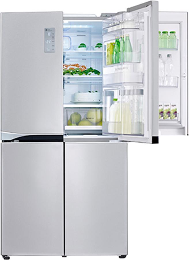 Frigorifero lg frigo americano side by side no frost for Frigorifero side by side 4 porte