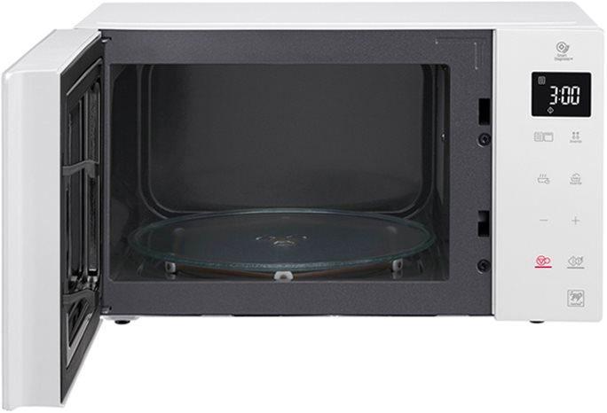 Lg forno a microonde combinato con grill capacit 23 litri - Forno a microonde con crisp ...