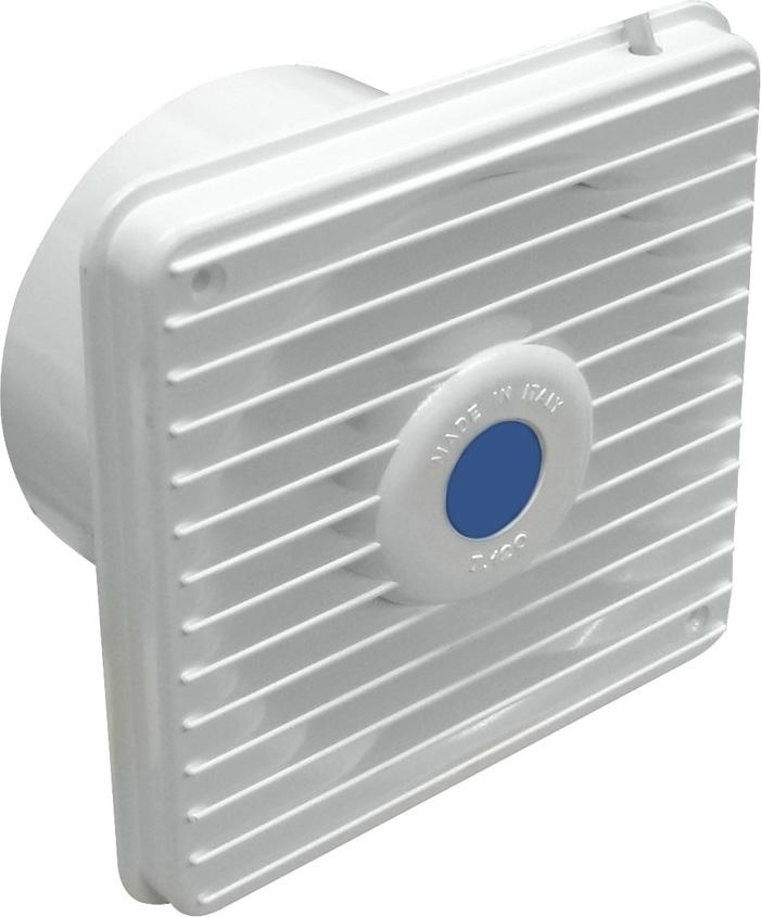 LUX Aspiratore Elettrico da Muro  Sottocappa 15 Watt 100 m3h 140x140 mm T120
