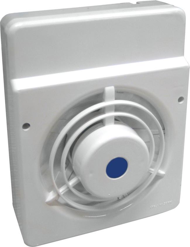 LUX Aspiratore Elettrico da Muro  Sottocappa 20 Watt 130 m3h 200x155 mm V10
