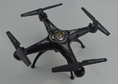 MASTER Drone camera Quadricottero 6 Assi Luci LED Nero - DRONE5