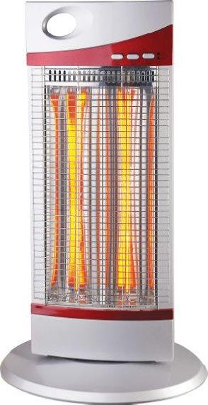 MASTER Stufa elettrica al Carbonio Infrarossi Max 1200W Oscillante SC1200