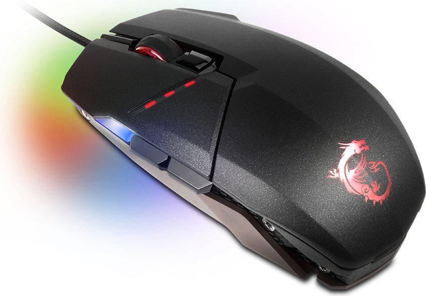 Msi mouse gaming dpi ottico tasti con filo usb