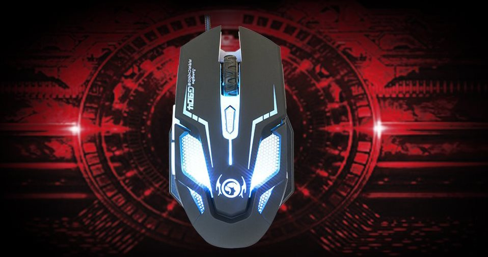 Marvo mouse gaming per pc mouse ottico pulsanti dpi