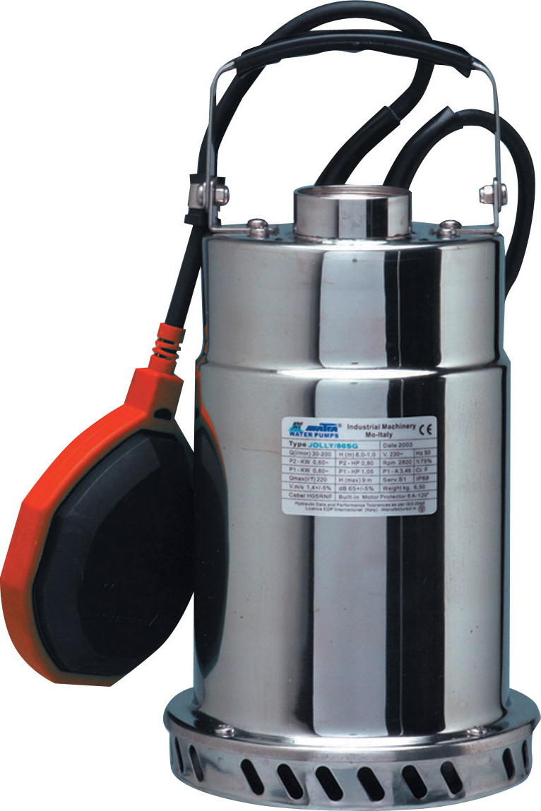 Matra Pompa Sommersa Elettropompa Potenza 0.5 Hp Portata 40 ltmin JOLLY 1SG