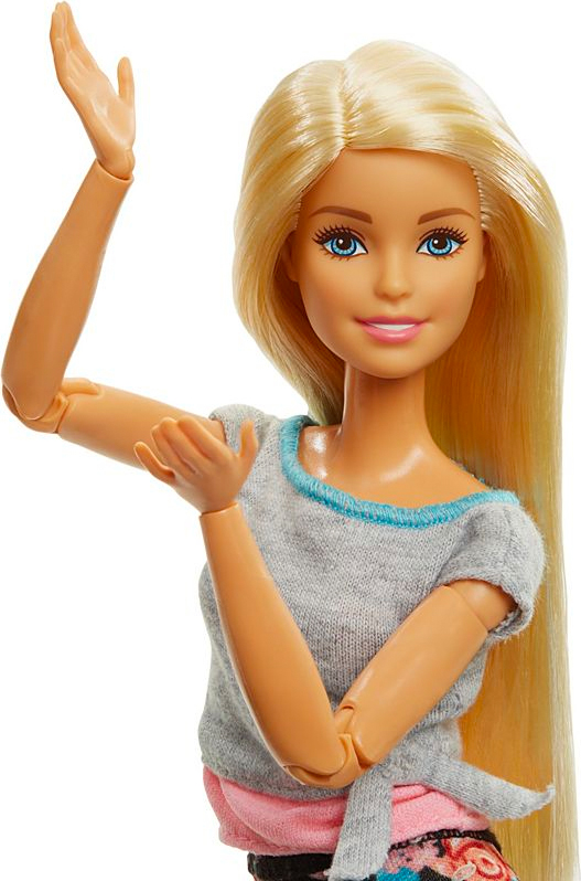 Capelli Lisci Mattel FTG81 Barbie Made to Move
