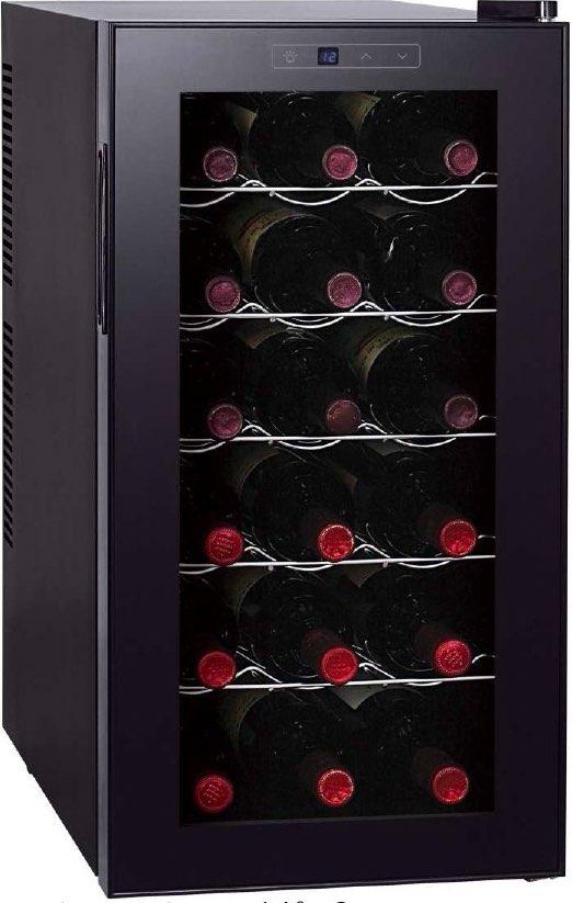 Cantinetta Frigo per Vini Capacità 18 bottiglie Classe energetica B  Raffreddamento 11° - 18° - 118700217 Vermentino 18