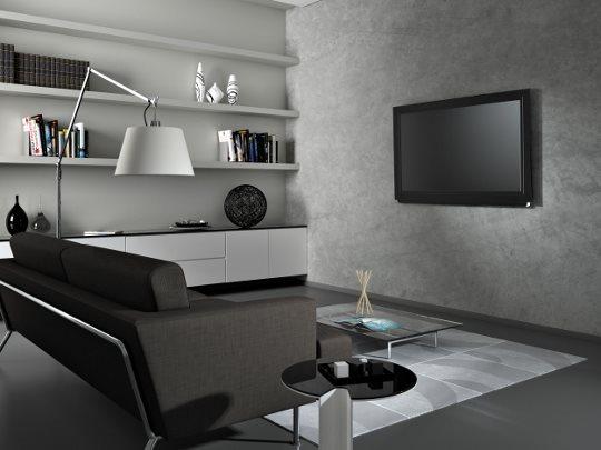 Meliconi supporto tv staffa a muro fissa per televisori da 40 39 a 50 39 peso max 50 kg vesa 200x200 - Staffe porta tv meliconi ...