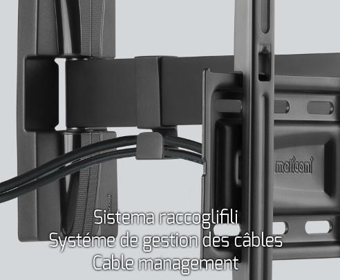 Meliconi supporto tv braccio a muro per televisori da 40 - Supporto tv motorizzato meliconi ...