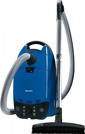 Aspirapolvere a Traino con Sacco Potenza 800 Watt Spazzola pavimento Parquet colore Nero Blu Complete C1 Ecoline Parquet 41EAG033