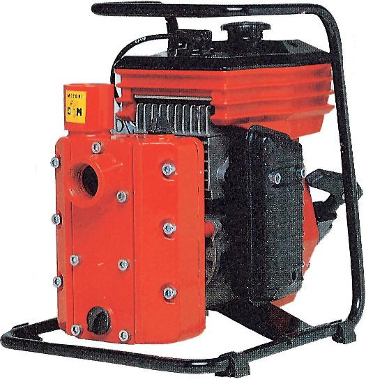 Motori CM Motopompa a Scoppio Pompa 46.47 cc 2 tempi Portatata 165 lmin CM461A