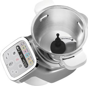 Moulinex Robot Da Cucina Multifunzione Capacita 3 Litri Potenza 1550 Watt 12 Velocita Con Timer Hf807e20 Companion Xl