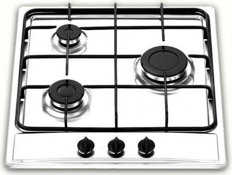 NARDI Piano Cottura a gas da Incasso 3 Fuochi Larghezza 45 cm ...