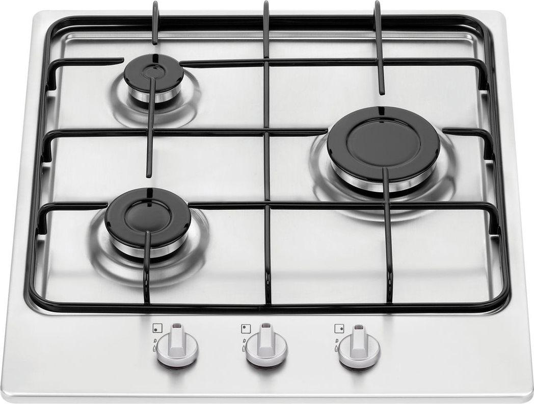 NARDI Piano Cottura a Gas da Incasso 3 Fuochi Larghezza 45 cm colore ...
