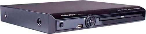 NEW MAJESTIC Lettore DVD MPEG 4 MP3 HDMI USB Scart col Nero - HDMI-579 USB