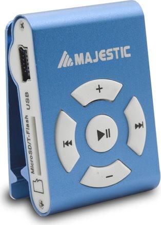 NEW MAJESTIC Mini Lettore Mp3 8 GB Clip colore Blu - SDB8309